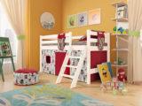 """Детская кровать """"СОНЯ 12"""" низкая с наклонной лестницей"""